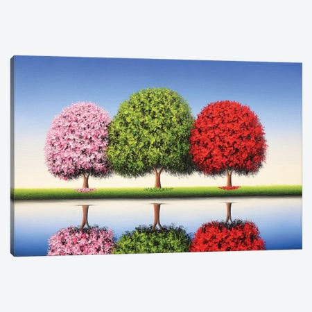 Blue Skies To Follow Canvas Print #RBI136} by Rachel Bingaman Canvas Wall Art