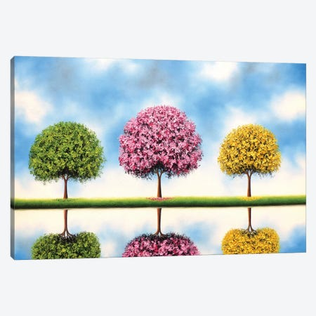 Bring Me Blue Skies Canvas Print #RBI13} by Rachel Bingaman Canvas Artwork