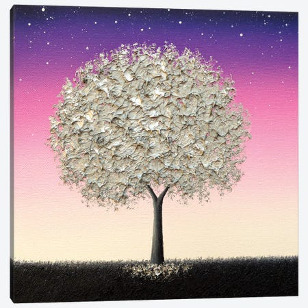 Night's Call Canvas Print #RBI143} by Rachel Bingaman Canvas Art