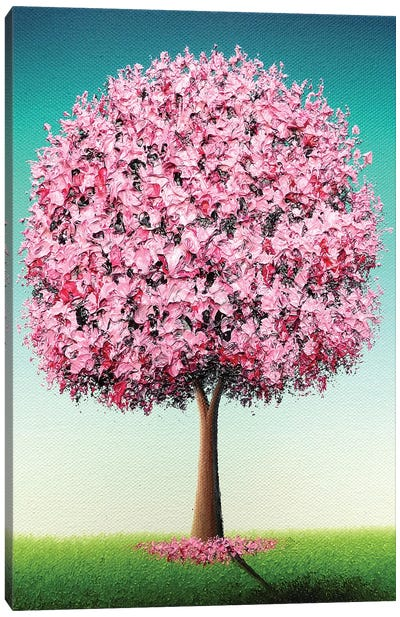 Spring's Bold Bloom Canvas Art Print