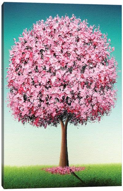 Spring's Bold Bloom Canvas Art Print