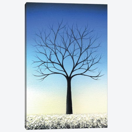 Winter's Voice Canvas Print #RBI146} by Rachel Bingaman Art Print