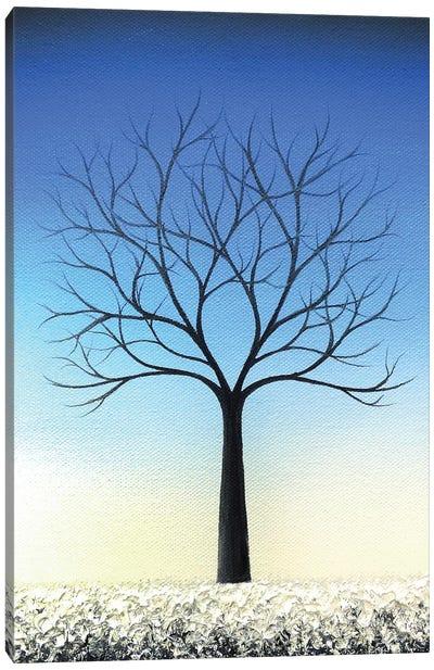 Winter's Voice Canvas Art Print