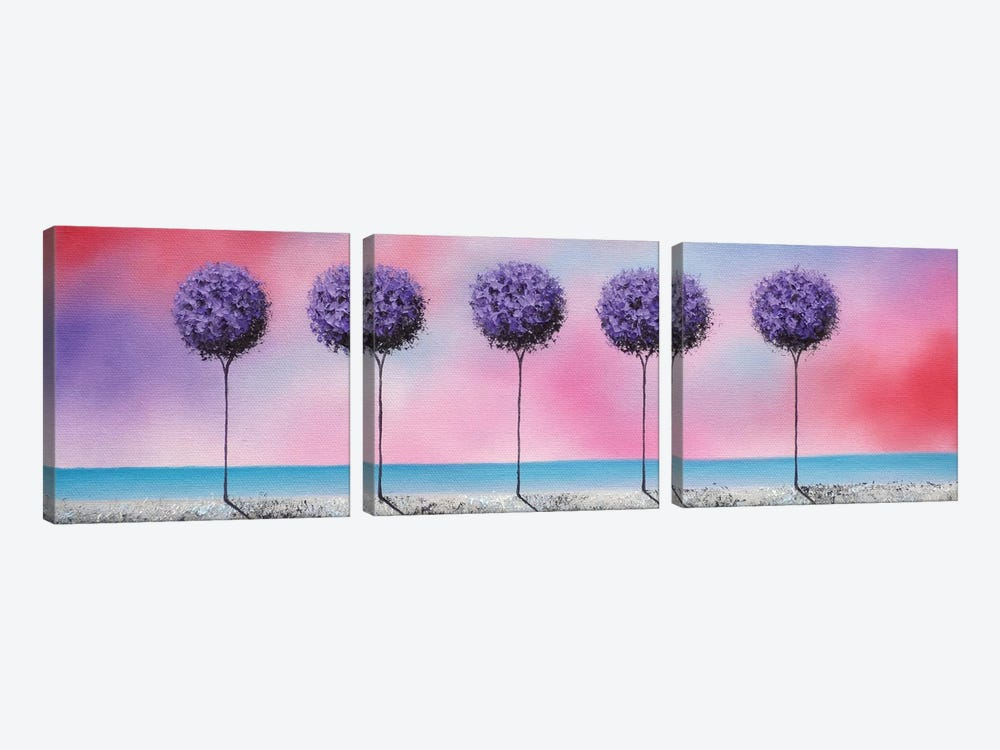 Echoes Of Summer by Rachel Bingaman 3-piece Canvas Artwork
