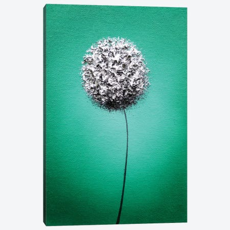 Emerald Bliss Canvas Print #RBI23} by Rachel Bingaman Art Print