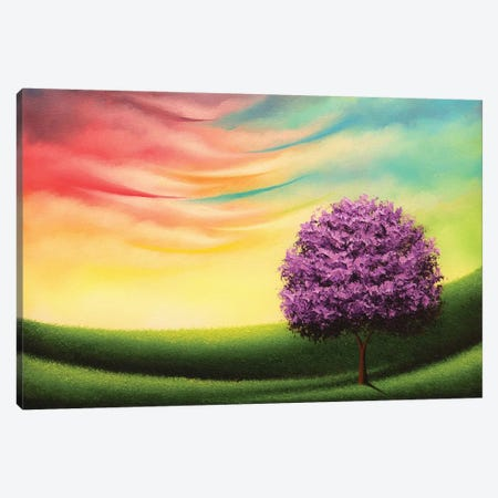 A Glimpse Of Glory Canvas Print #RBI3} by Rachel Bingaman Canvas Artwork