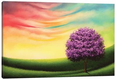 A Glimpse Of Glory Canvas Art Print