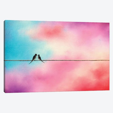 Love Will Keep Us Canvas Print #RBI40} by Rachel Bingaman Canvas Print