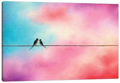 Love Will Keep Us Canvas Art Print