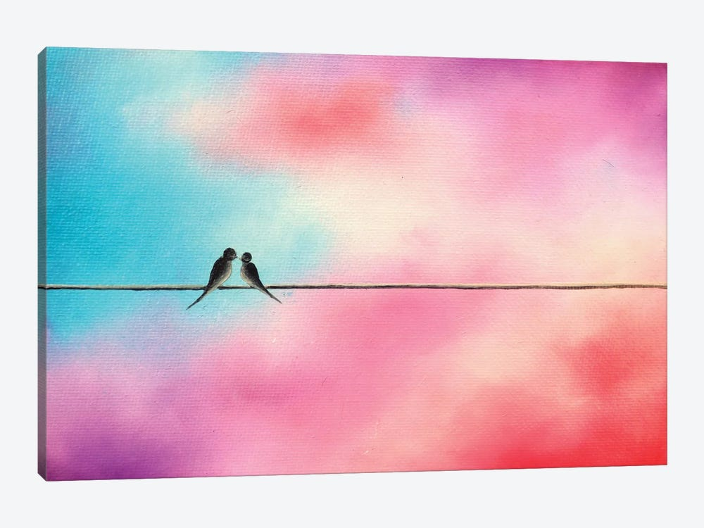 Love Will Keep Us by Rachel Bingaman 1-piece Canvas Art Print