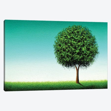 Luck's Blooming Canvas Print #RBI42} by Rachel Bingaman Canvas Print