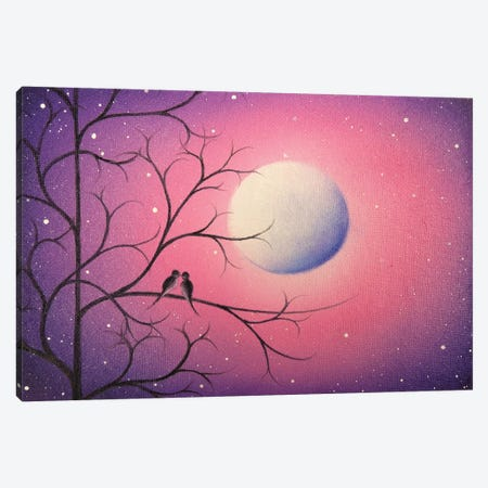 Midnight Callings 3-Piece Canvas #RBI46} by Rachel Bingaman Canvas Wall Art