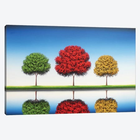 Remember Blue Skies Canvas Print #RBI57} by Rachel Bingaman Canvas Art Print