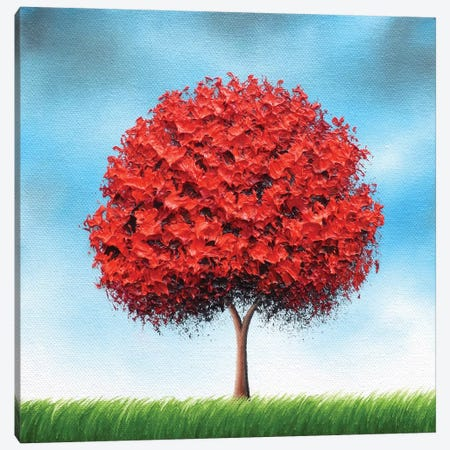 Rising Canvas Print #RBI62} by Rachel Bingaman Art Print