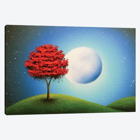 Singing The Night Canvas Print #RBI64} by Rachel Bingaman Canvas Art