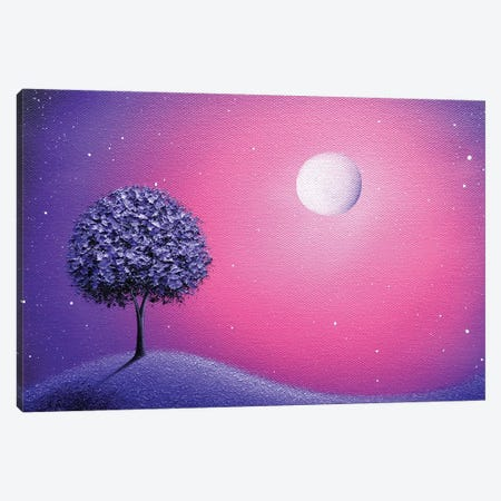 Wakes The Night Canvas Print #RBI89} by Rachel Bingaman Canvas Art Print