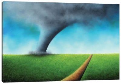 Against Wayward Winds Canvas Art Print