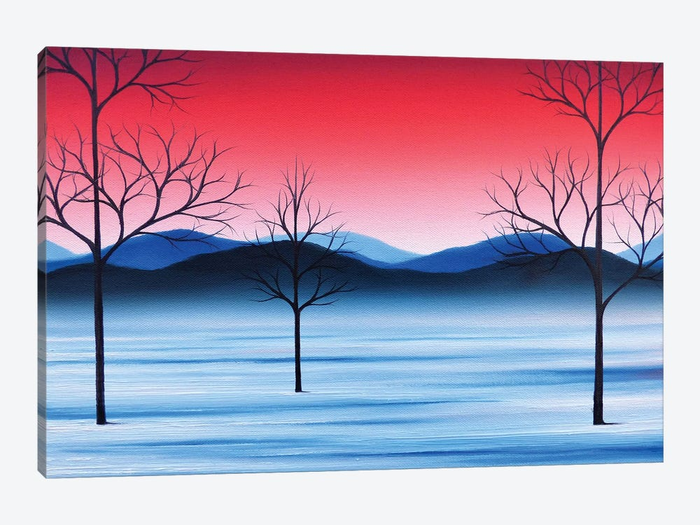 Winter Beckons by Rachel Bingaman 1-piece Canvas Art Print