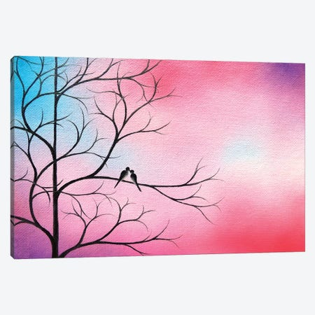 Always and Forever 3-Piece Canvas #RBI96} by Rachel Bingaman Canvas Print