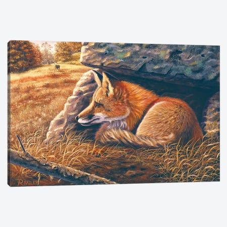 Downwind Canvas Print #RBL11} by Rod Bailey Canvas Print
