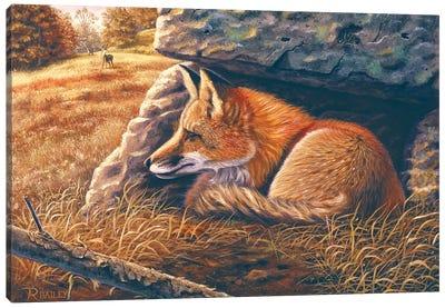Downwind Canvas Art Print