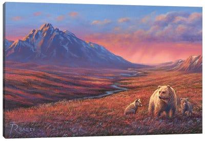 Evening Out Canvas Art Print