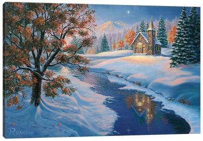 Evening Services Canvas Art Print