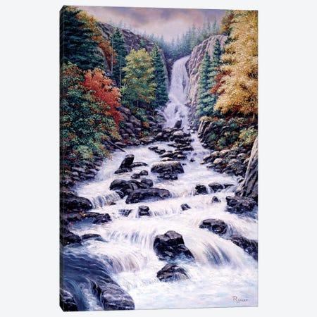 Fish Creek Falls Canvas Print #RBL15} by Rod Bailey Canvas Wall Art