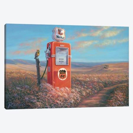 Flite Fuel Canvas Print #RBL16} by Rod Bailey Canvas Artwork
