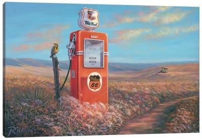 Flite Fuel Canvas Art Print