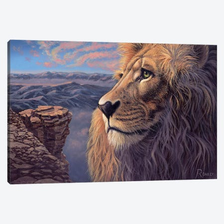 His Kingdom Canvas Print #RBL19} by Rod Bailey Canvas Art Print