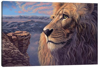His Kingdom Canvas Art Print