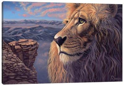 His Kingdom Canvas Art Print