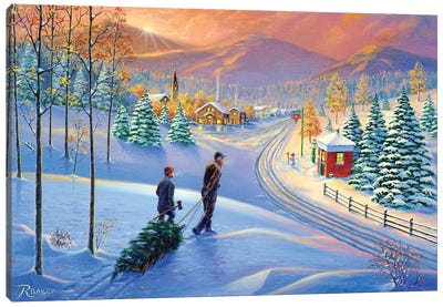 Holiday Tradition Canvas Art Print