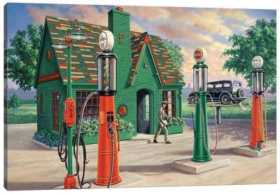 In The Neighborhood Canvas Art Print