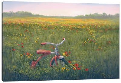 Left Behind Canvas Art Print