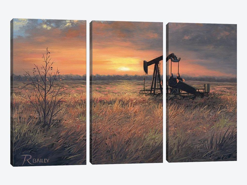 OK Pride by Rod Bailey 3-piece Canvas Print