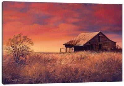 Osage Barn Canvas Art Print