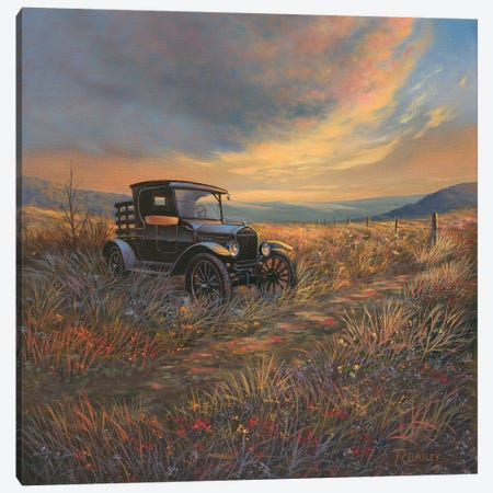 A Day Gone By Canvas Print #RBL3} by Rod Bailey Canvas Print