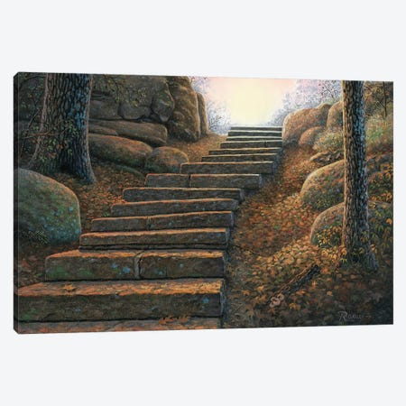 Seekers Path Canvas Print #RBL41} by Rod Bailey Canvas Art