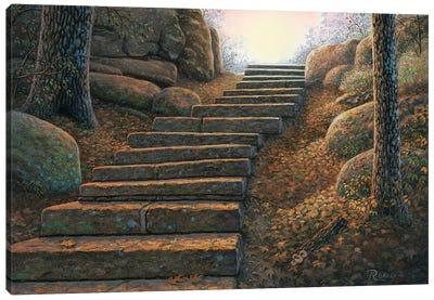 Seekers Path Canvas Art Print