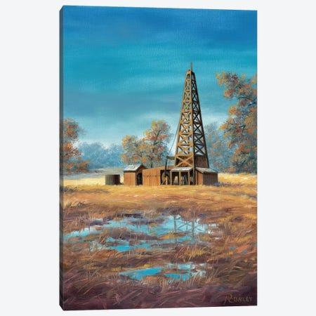 Whoa Nellie Canvas Print #RBL46} by Rod Bailey Art Print