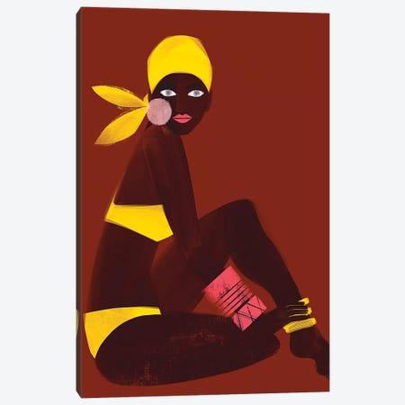 Amber Sun Canvas Print #RBN13} by Erin K. Robinson Art Print