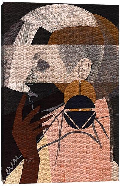 Face Off No. 2 Canvas Art Print