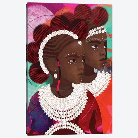 Gemini Canvas Print #RBN18} by Erin K. Robinson Canvas Art Print