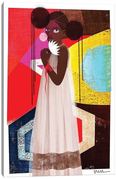 Marché Canvas Art Print