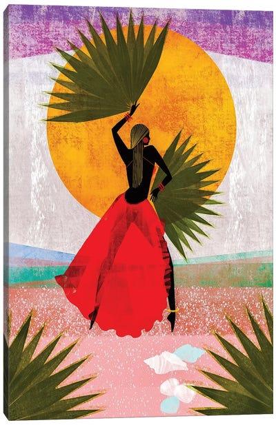 Martine Canvas Art Print