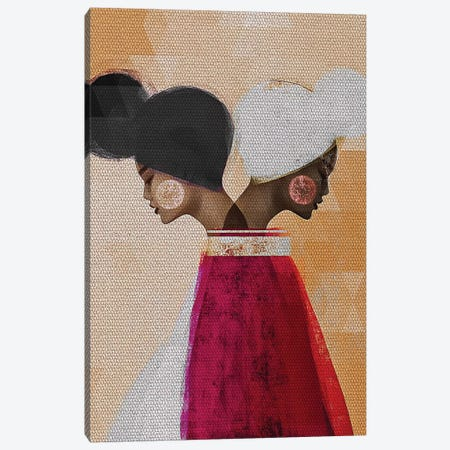 Easy Ease (Neutral) 3-Piece Canvas #RBN3} by Erin K. Robinson Canvas Print
