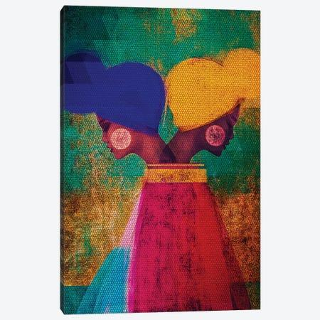 Easy Ease (Vibrant) Canvas Print #RBN4} by Erin K. Robinson Canvas Artwork