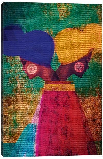 Easy Ease (Vibrant) Canvas Art Print